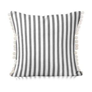 Obliečka na vankúš Grey White, 40x40 cm