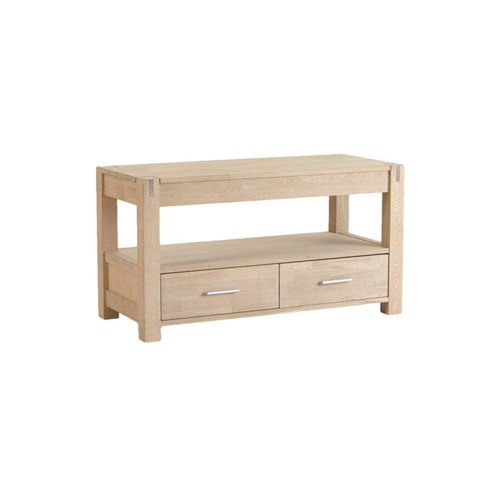 TV stolík z dubového dreva Knuds Texas