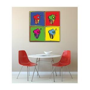 Obrat Pop Art Muffin, 50 x 50 cm