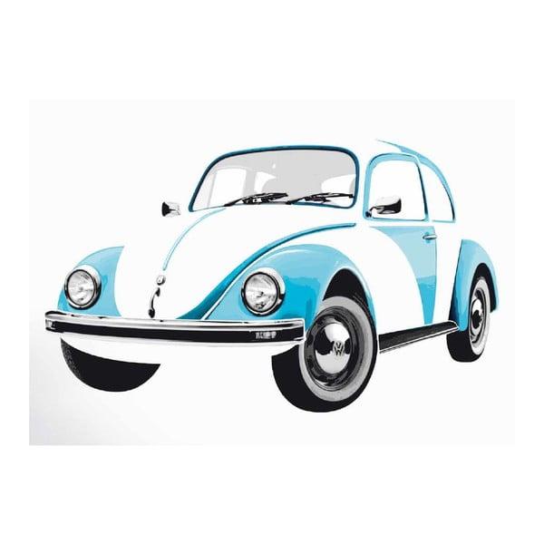 Dekoratívna samolepka Beetle Blue
