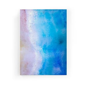 Obraz zo zamatového plátna Velvet Atelier Shore, 50×70 cm