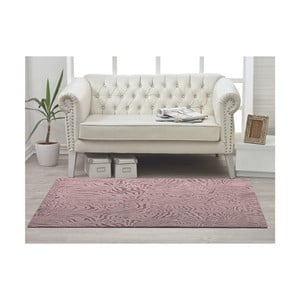 Koberec Welsoft Zebra Pink, 80x120 cm