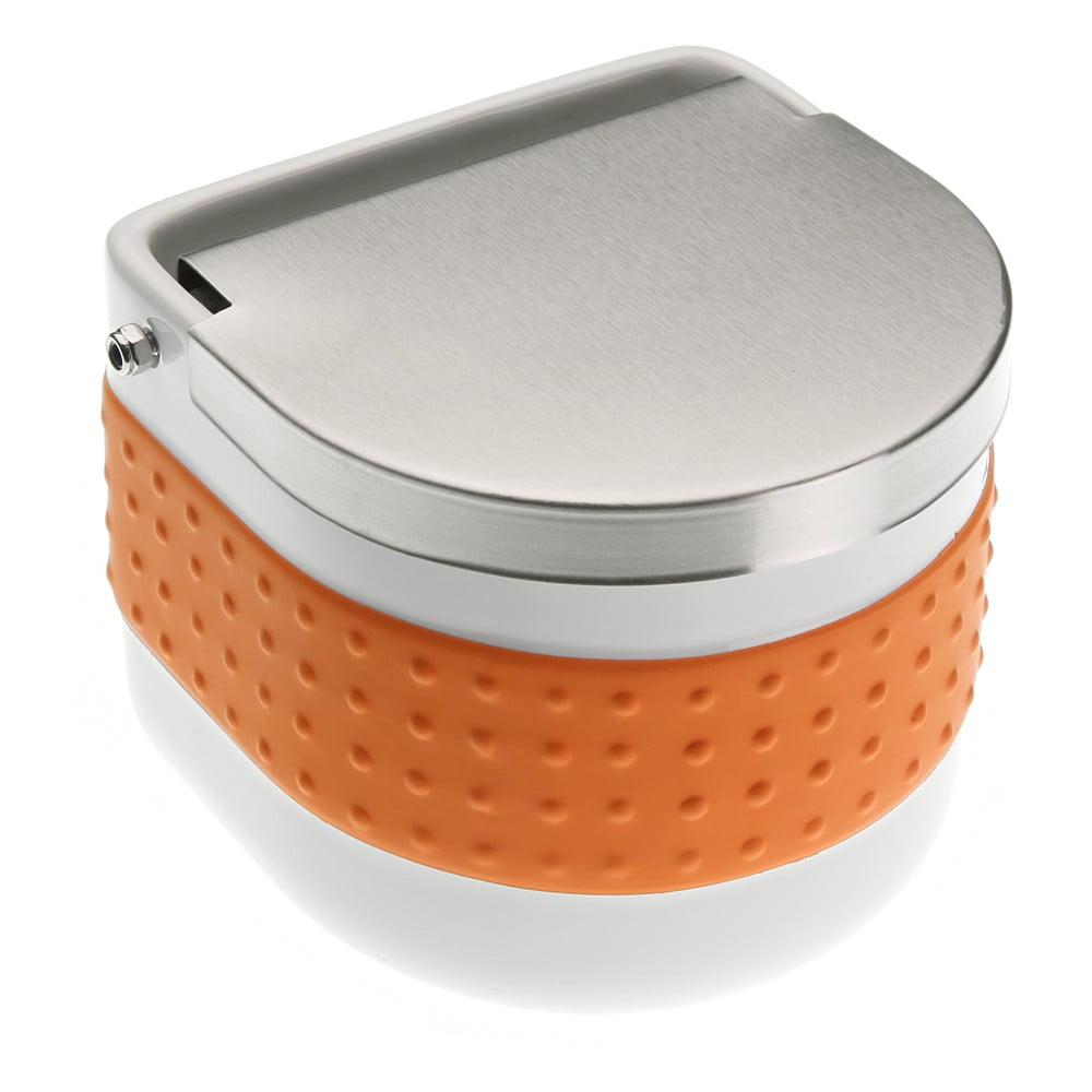 Oranžová dóza na soľ Versa Celler