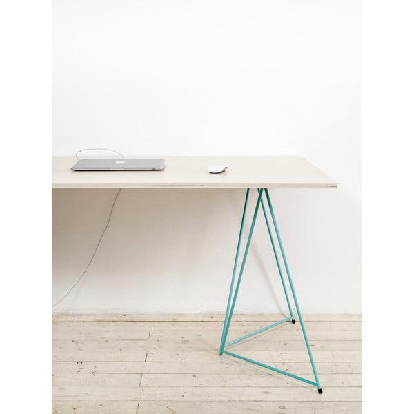 Prírodná doska k nohám stolu Flat 150x75 cm, bielá