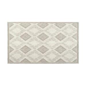 Bavlnený koberec Fara 80x150 cm, krémový