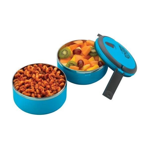 Modrá okrúhla miska na obed Pioneer Lunchbox