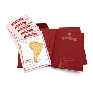 Sada pre cestovateľov Luckies of London Red Edition