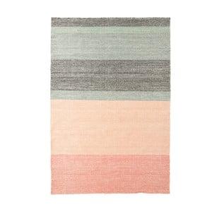 Vlnený koberec Pulvis Pink, 140x200 cm