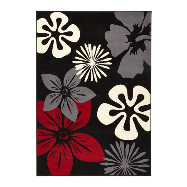 Koberec Hanse Home Gloria Flower Night, 160 x 230 cm