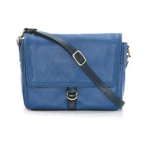Modrá kožená kabelka Gianni Conti Nidia
