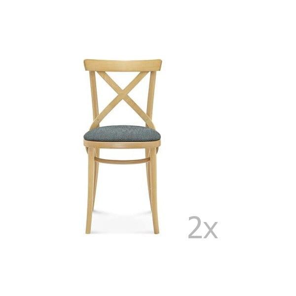 Sada 2 drevených stoličiek Fameg Kield