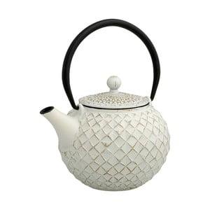 Biela čajová kanvica so sitkom Brandan Cast, 800 ml