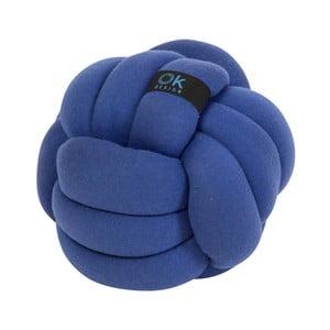 Modrý vankúš OK Design Chango, Ø32 cm