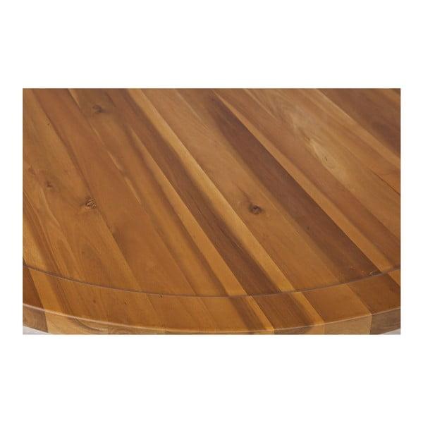 Prírodný konferenčný stolík vtwonen Sprokkeltafel, ⌀ 80 cm