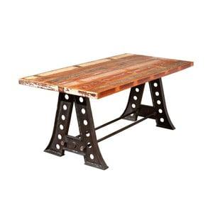 Jedálenský stôl z masívneho dreva 13Casa Industry Vintage, šírka 180 cm