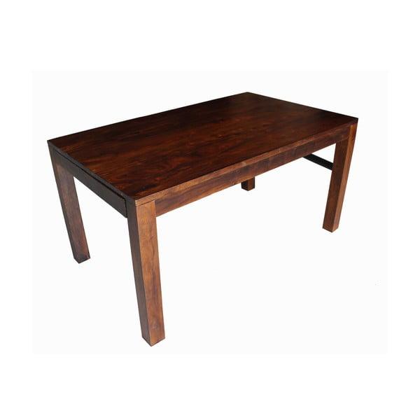 Rozkládací stôl z palisandra Indigodecor, 120-210 cm