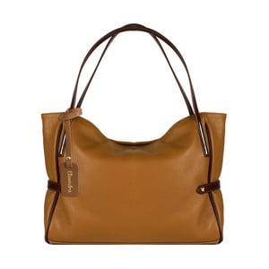 Hnedá kožená kabelka Maison Bag Koraline