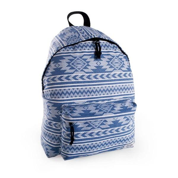 Batoh Tempo Blue Aztec