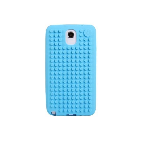 Pixelový obal na Samsung Note 3, blankytná modrá