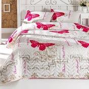 Sada prikrývky cez posteľ a vankúša Cocona, 200x220cm