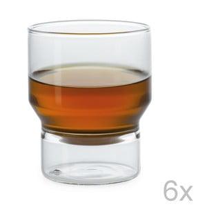 Sada 6 pohárov Pure