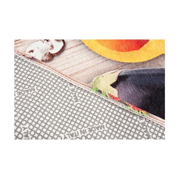 Vysokoodolný kuchynský koberec Food, 60x220 cm
