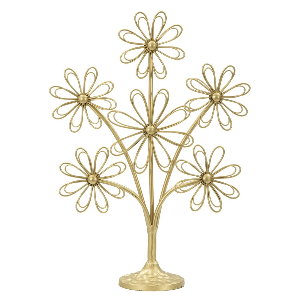 Dekoratívna soška zo železa v zlatej farbe Mauro Ferretti Biglettini