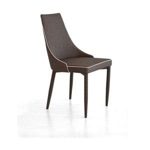 Jedálenská stolička Plana, tmavohnedá