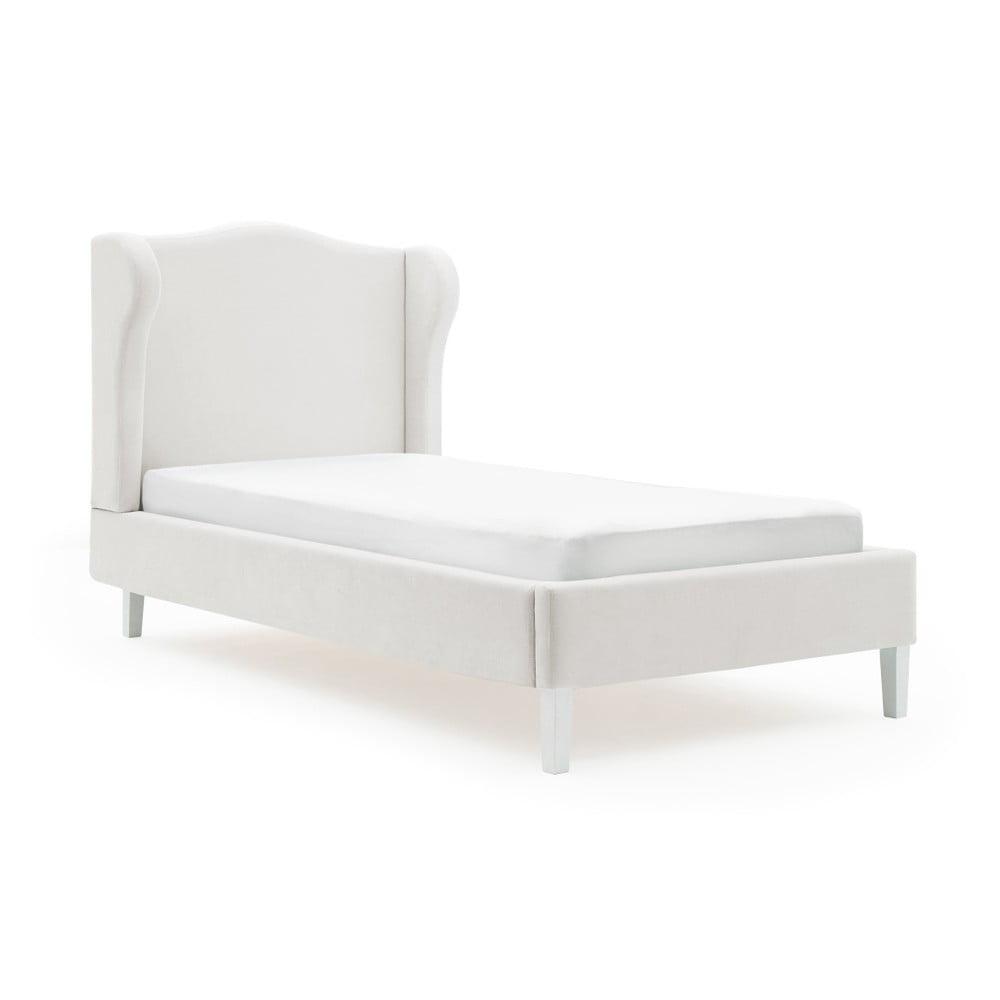 Detská sivá posteľ PumPim Lara, 200 x 90 cm