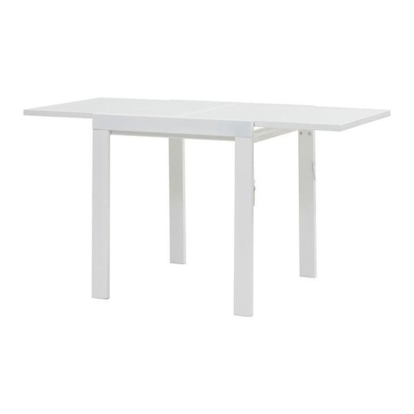 Rozkladací jedálenský stôl Sprint, 70-140 cm, biely
