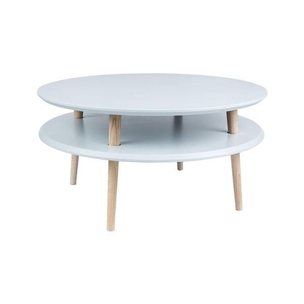 Konferenčný stolík UFO 35x70 cm, sivý