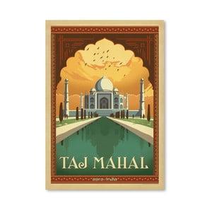 Plagát Americanflat Taj Mahal, 42 x 30 cm