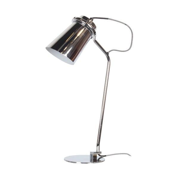 Stolná lampa Arthur Chrome