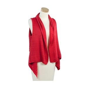 Červená dámska vesta Art of Polo Lady