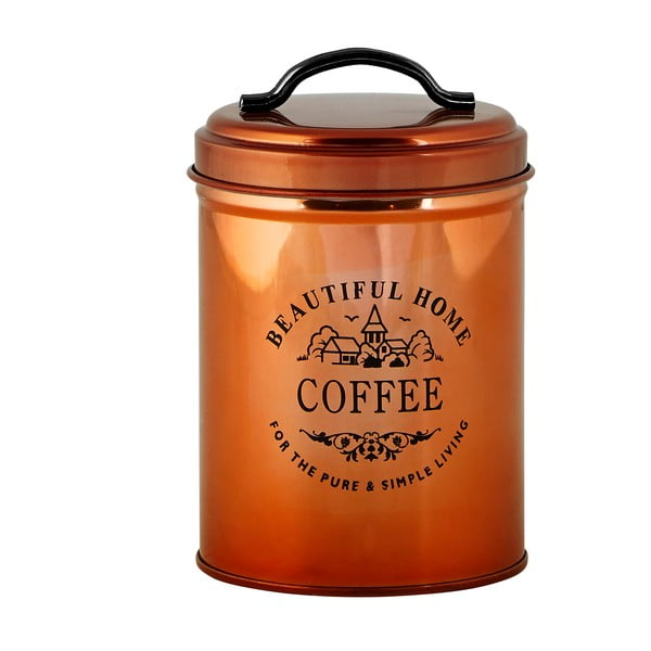 Medená dóza na kávu