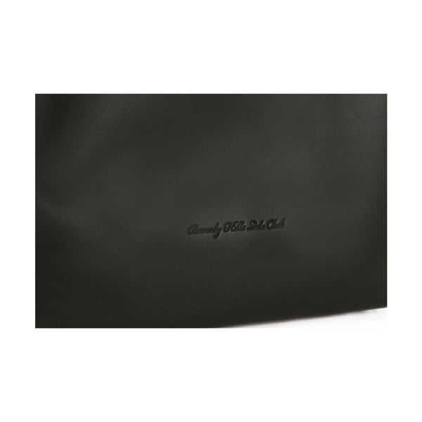 Zelená kožená kabelka Beverly Hills Polo Club Eliana