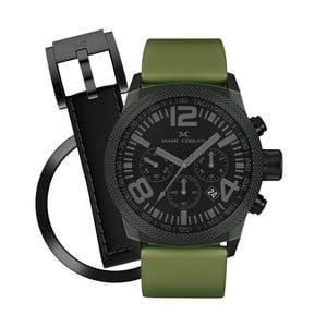 Unisex hodinky Marc Coblen s remienkom a krúžkom na ciferník naviac P65