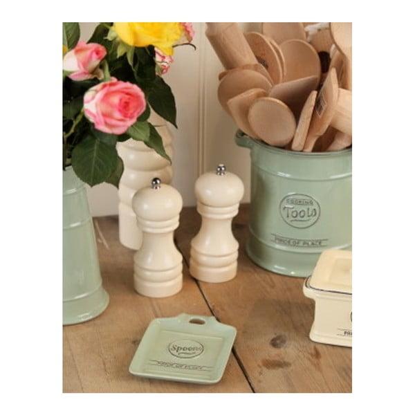Mlynček na soľ T&G Woodware Capstan Cream, 15 cm