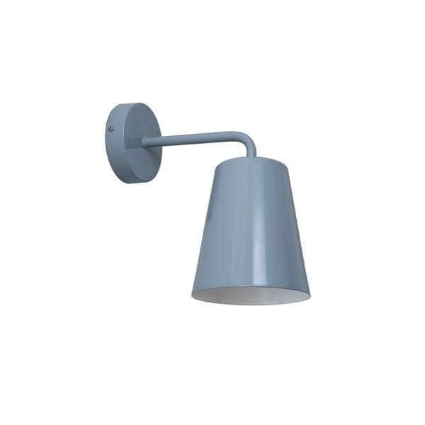 Sivé nástenné svetlo Loft You Pot