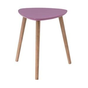 Ružový odkladací stolík Nomad