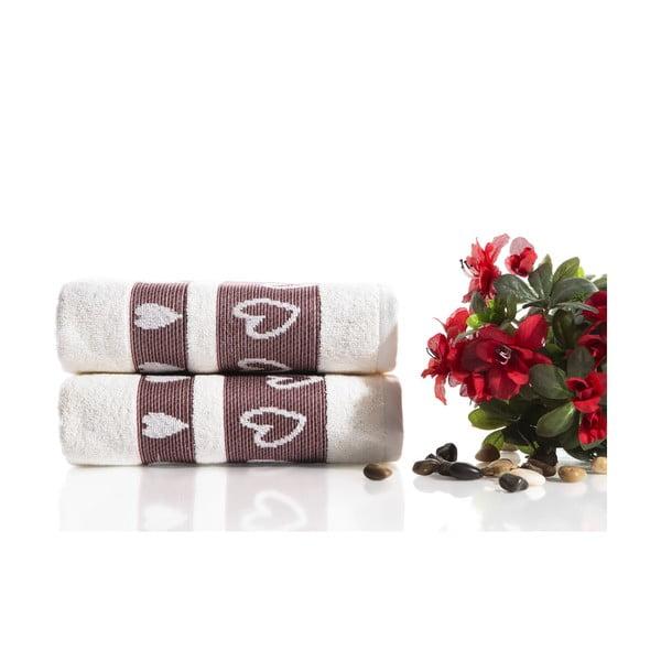 Sada 2 uterákov Larisa V3, 50x90 cm