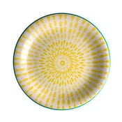 Žltý tanier z dolomitu Brandani Ginger, ⌀19,5 cm
