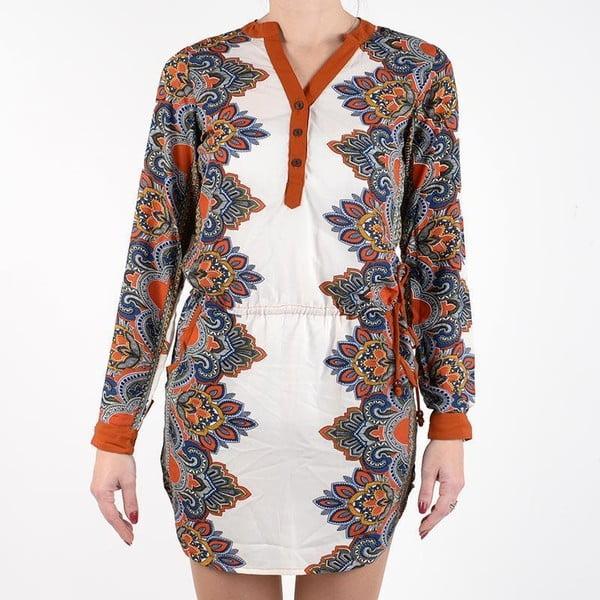 Plážové šaty Shirt Brown, veľ. XL