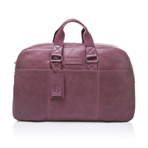 Pánska kožená taška Ferruccio Laconi 100 Bordeaux