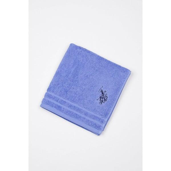 Modrá kúpeľňová predložka U.S. Polo Assn. Blue, 60 x 90 cm