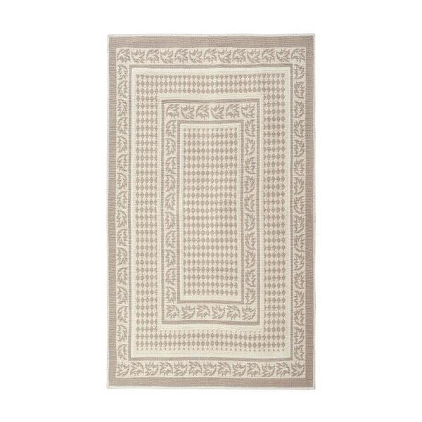 Krémový bavlnený koberec Floorist Regi, 80x150cm