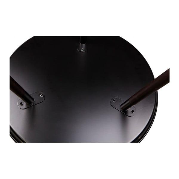 Čierny odkladací stolík Nørdifra Sticks, výška 40,5 cm