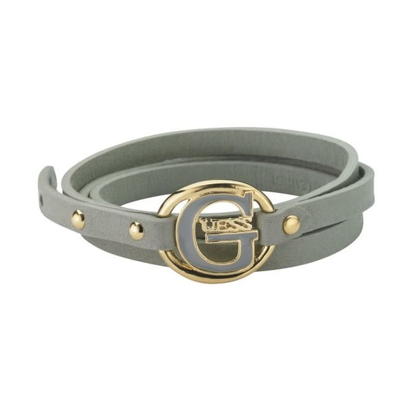 Náramok Guess Grey Buckle