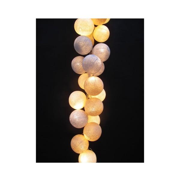 Svetelná reťaz Glow, 35 ks svetielok
