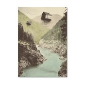 Plagát Antigravity od Florenta Bodart, 30x42 cm